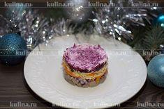 Салат из свеклы с селедкой - рецепт с фото