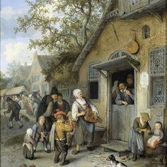 Country Kermis, Cornelis Dusart, 1680 - 1704 - Rijksmuseum