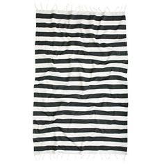 j.crew striped beach towel