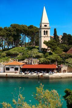 The Picturesque  harbour of Veli Losinj island of Losinj Croatia