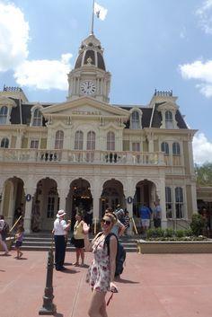 Main Street no Disney World #CityHall