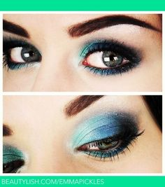 The Eye Makeup From Outer Space | Makeup! | Pinterest | Night ...
