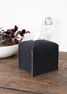 Square tissue box cover Kleenex box cover designer home by POPEQ