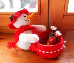 DSCN5294 Crochet For Kids, Snowman, Dinosaur Stuffed Animal, Applique, Free, Toys, Christmas, Animals, Advent