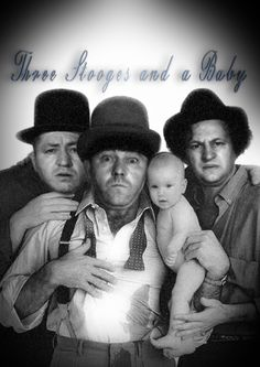 The Three Stooges Antics, timing, slap stick comedy and Curly the best out of all 3! Lol!