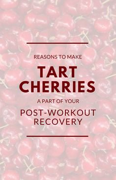 Tart cherries for recovery: Benefits + Recipes + Where to buy montmorency cherry juice Cycling For Beginners, Cycling Tips, Road Cycling, Montmorency Cherry Juice, Cherry Juice Benefits, Best Post Workout, Tart Cherry Juice, Recovery Food, Fast Weight Loss Plan