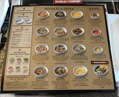 picture regarding Noodles and Company Printable Menu named 24 Most straightforward Menu Programs photographs within 2018 Menu, Menu cafe