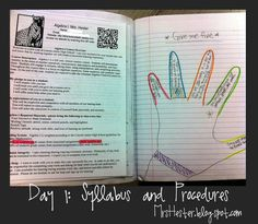 Give me 5: Trace your hand and list something important that you just learned from the (foldable/handout/presentation/reading) on each finger.