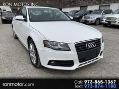 This 2010 Audi A4 2.0T quattro Premium is listed on Carsforsale.com® for $7,600 in Wantage, NJ. This vehicle includes 4-Cyl Turbo 2.0 Liter,Auto 6-Spd OD Tiptronic,AWD,Hill Hold Assist Control,Traction Control,Electronic Stability Control,ABS (4-Wheel),Anti-Theft System,Keyless Entry,Air Conditioning,Air Conditioning Rear,Power Windows,Power Door Locks,Cruise Control,Power Steering,Tilt & Telescoping Wheel,AM/FM Stereo,CD/MP3 (Single Disc),Sirius Satellite,Bluetooth Wireless,Dual Air… Keyless Entry, Cruise Control, Door Locks, Audi A4, Abs, Vehicles, 6 Pack Abs, Rolling Stock