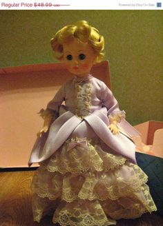 ON SALE Vintage Madame Alexander DOLL First Lady Series by dtriece
