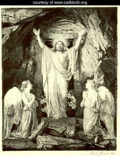 Resurrection of Christ - Carl Heinrich Bloch - www.carlbloch.org