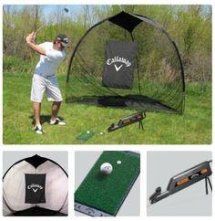 Golf Sporting Goods Callaway Super-sized Ft Launch Zone Hitting Mat