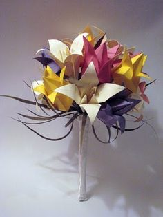 all things paper: paper flowers