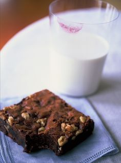 My classic Outrageous Brownies from The Barefoot Contessa Cookbook.