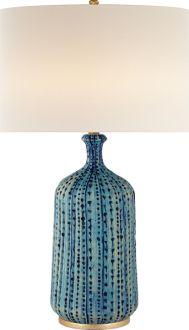 CULLODEN TABLE LAMP - designer Aerin Lauder for Circa Lighting.
