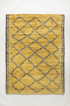 Hand-Tufted Ourain Rug #anthropologie