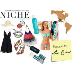 """Escape to Los Cabos"" by niche-magazine on Polyvore"