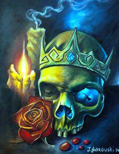 ; Floral Skull Tattoos, The Lovely Bones, Creepy Images, Colorful Skulls, Day Of The Dead Art, Skull Pictures, Skull Artwork, Skeleton Art, Desenho Tattoo