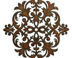 Off CKI Brown Crestlin Wall Decor by IMAX. @ This ornate wall flourish designed by Carolyn Kinder features a slight rustic finish and looks fabulous in a variety of rooms. Rustic Wood Wall Decor, Transitional Home Decor, Transitional Kitchen, Decorative Wall Panels, New Wall, Wall Décor, Wall Art, Interior Exterior, Joss And Main