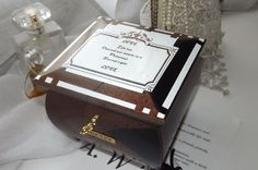 Handmade Lockable wooden Jewellery / Trinket box by DAWNaffirmationBoxes, £33.99 Quote on the meaning of LOVE