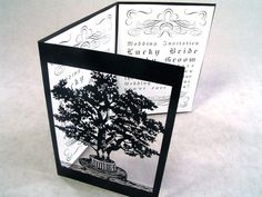 couple-tree-black5 love this, except with snowflake motif perhaps on brown or white paper with silver