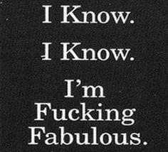 hahahah....no seriously I know!