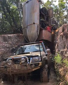 We finally get our trailer for our trip tomorrow! We won't be doing this 👆🏽but can't wait to test it out! Nissan Patrol Y61, Patrol Gr, Hors Route, Diesel, Toyota 4x4, Off Road Adventure, Expedition Vehicle, Pickup Trucks, Land Cruiser