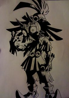 Legend of Zelda skull kid by kevbot117