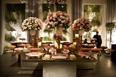 brazilian wedding sweets | The Amazing Sweets Table at Brazilian Weddings | adriandmike
