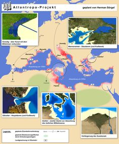 It's not just the plot of a Philip K. Dick book—a man spent his life trying to make Atlantropa happen.