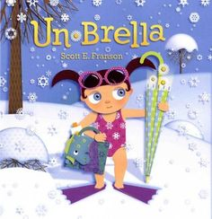 Wordless picture book about a magical umbrella