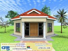 Total living space square meters) Total house area square meters) Overall dimensions x Round House Plans, Model House Plan, Free House Plans, House Floor Plans, Minimalist House Design, Minimalist Home, Single Storey House Plans, 2 Bedroom House Plans, Site Plans