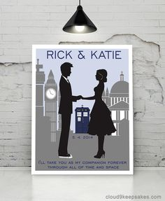 dr who wedding- This is cute too! I would love this and so would Jonathan <3