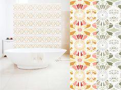 Vintage Tile Wallpaper