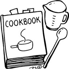 Recipe Book Clip Art Free