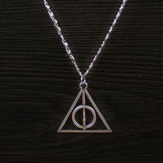 Harry Potter die Heiligtümer des Todes Halskette  von ibeads auf DaWanda.com