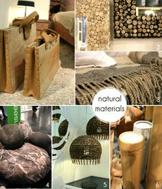 #trends2013, #immcologne, #natural #wood #stone #wool