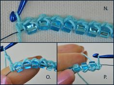 crochet beading tutorial