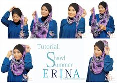 I would love to have a hijab, now if I ever find one I'll be able to put it on with this tutorial Hijab Style Tutorial, Leopard Fashion, Hijab Fashion Inspiration, Pretty Girl Swag, Turban Style, Islamic Fashion, Loop Scarf, How To Wear Scarves, Hijab Outfit