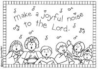Make a joyful noise unto the lord coloring pages book Sunday School Teacher, Sunday School Crafts, Bible Coloring Pages, Coloring Books, Coloring Sheets, Sunday School Coloring Pages, Make A Joyful Noise, Christian Crafts, Preschool Christmas