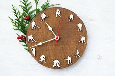 Sportmen gift, Hockey clock