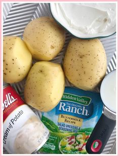 Ranch potatoes made in the slow cooker with only a few ingredients. Tender, creamy potato chunks seasoned with ranch seasoning mix. Ranch Mashed Potatoes, Mashed Potato Recipes, Potato Sides, Potato Side Dishes, Lasagna Side Dishes, Honey Baked Chicken, Vegetable Slow Cooker, Ranch Seasoning Mix, Crockpot Recipes