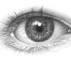 Reaslistic eye drawing tutorial
