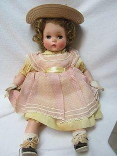 Vintage Madame Alexander Bonnie Baby Doll in Tagged Dress