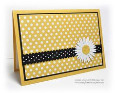 Handmade Blank Notecards  Set of 5 Yellow & by CardCreationsbyBeth, $6.00