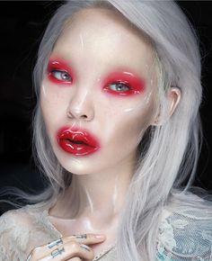 "Remake My ""Glossy Matte""✨ 📷: @aryunatardis #makeupaddict #makeupart #makeupjunkie #motd #russia #nyx #red #alternative #amazingmakeupart #glow #highlights #makeupforever #makeupjunkie #highlight #contour #limecrime #amazingmakeupart #body #instagood #fashion #picoftheday #gloss #amazing #stunning #love #hair #longhair #mua #photoofday #beautiful"