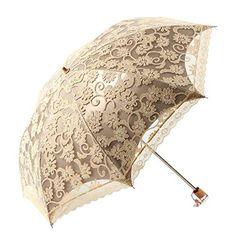 Gaosaili Handmade Wedding Parasol Lace Umbrella Wedding Party Photo Props Decoration