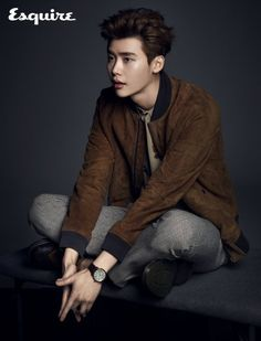 Lee Jong Suk for Esquire - April 2015