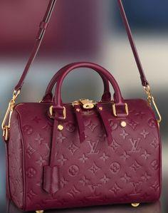Vuitton, everyday luxury. Speedy 25