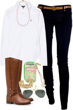 """""""Classic"""" by classically-preppy ❤ liked on Polyvore"""